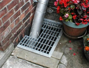 Efficient drainage system, drainage system