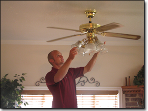 Tips to install a ceiling fan, ceiling fan
