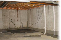 Waterproof basement, basement