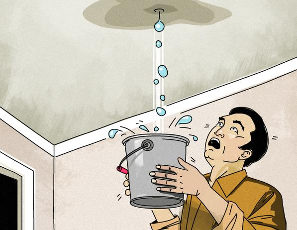 Leaky Roof dangers due to leaky roofs   constructionhere
